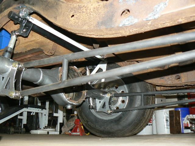 Willy S 55 Gasser Setting Up The Rear Axle Page 2