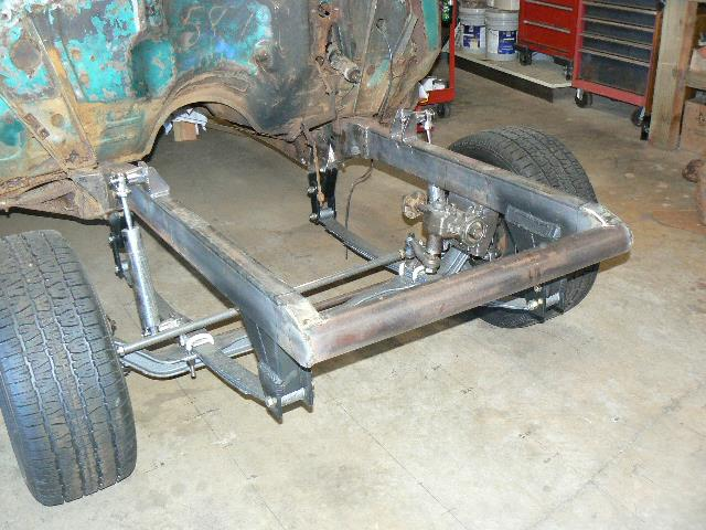 Willy's 55 Gasser     Tilt Front End