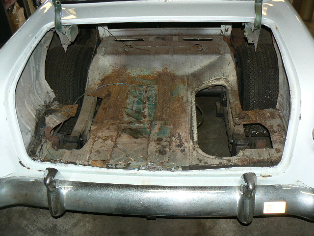 1955 Chevy Truck Floor Pan Replacement Floor Pan