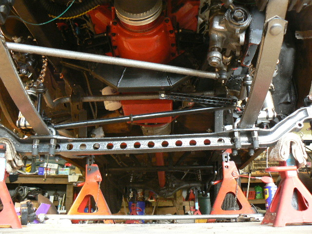 Sway Bar End Links >> Willy's 55 Gasser..... MORE WORK ON THE FRONT SUSPENSION....
