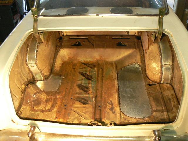 55 Chevy Bel Air Hardtop Floors
